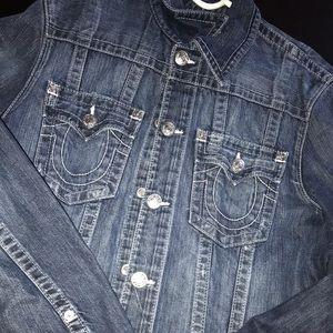 True Religion Jean Jacket💙